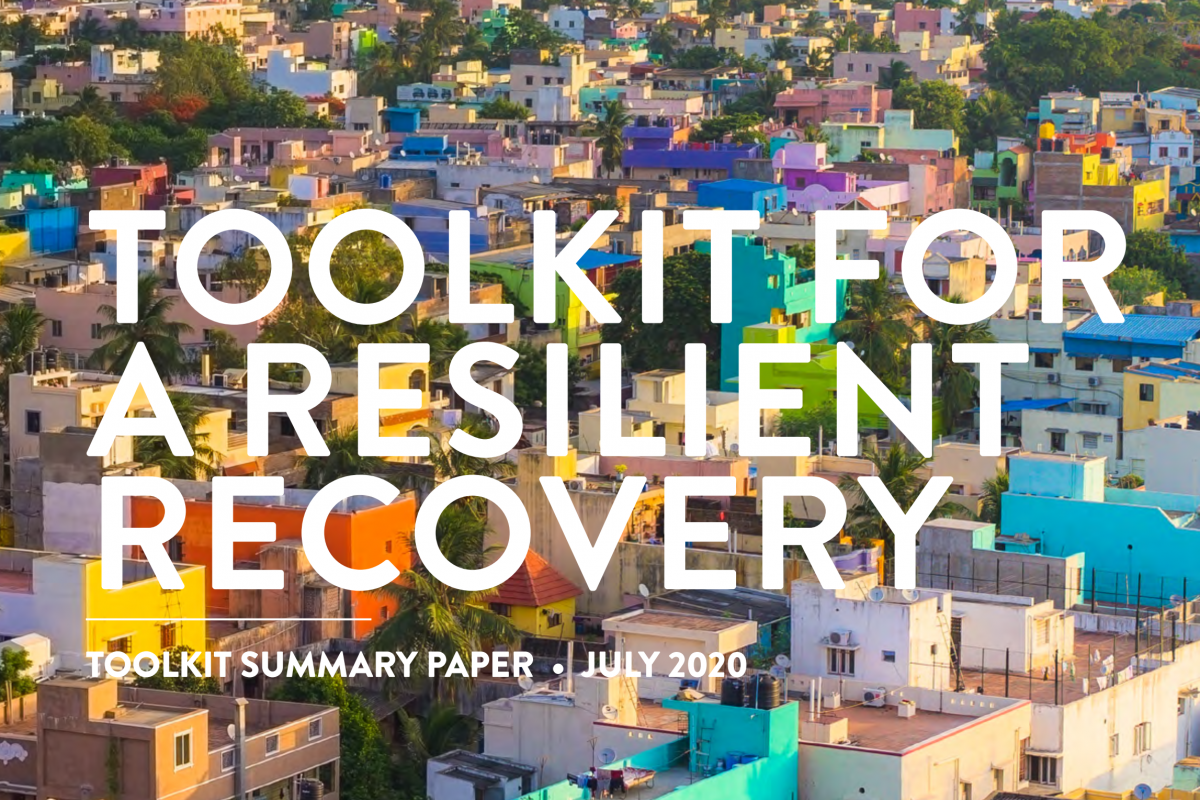 Toolkit for a Resilient Recovery
