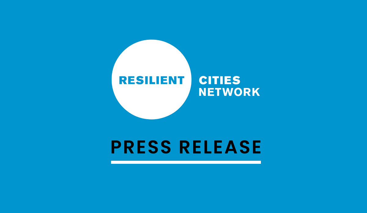 The Global Resilient Cities Network announces strategic partnerships to deliver joint projects in rapidly urbanizing, vulnerable cities