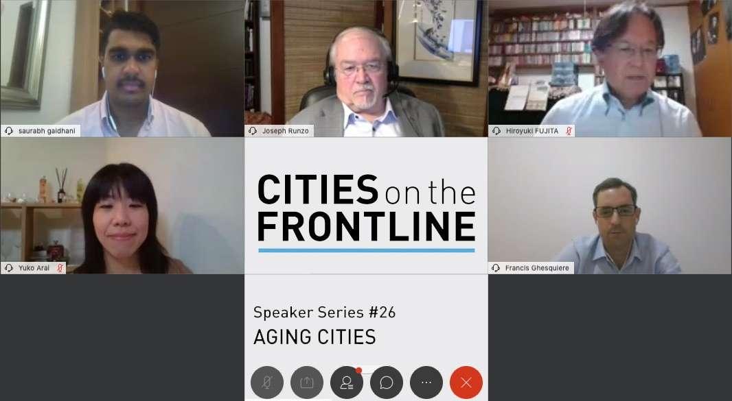 Cities on the Frontline Speaker Series