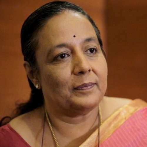 Headshot of Dr. Jayshree Vencatesan, Urban Ecologist, Care Earth Trust at Chennai.